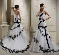 brautkleid schwarz weiss brautkleid schwarz spitze modische kleider in der welt beliebt