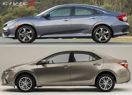 toyota yaris vs corolla comparison toyota corolla vs honda civic 2018 2019 car release and reviews