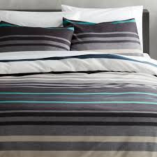 Teal Duvet Cover Lloyd Blue King Duvet Cover Cb2