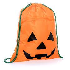 halloween pumpkin bag lil u0027 bones cinch sac thirty one gifts