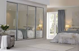 Mirror Sliding Closet Doors For Bedrooms Closet Doors Will Make The Bedroom Look Bigger