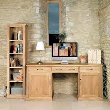 hidden office desk mobel oak large hidden office twin pedestal desk cor06d best price