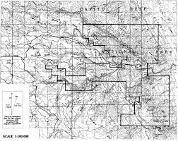 Old Route 66 Map by Capitol Reef Np Administrative History Table Of Contents