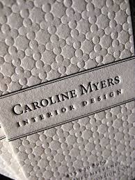 interior design business names textured letterpress business