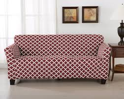 Pink Sofa Slipcover by Home Fashion Designs Brenna Box Cushion Sofa Slipcover U0026 Reviews