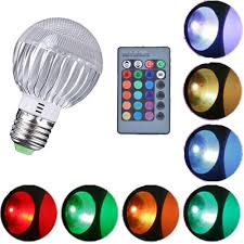 color changing light bulb with remote rgb led color changing light bulb with remote control for sale in