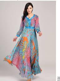 summer maxi dresses bohemia beach dress ladies u0027 printed plus
