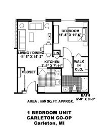 Carleton Floor Plans Carleton Co Op Csi