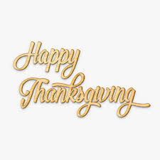 happy thanksgiving brush script wood sign