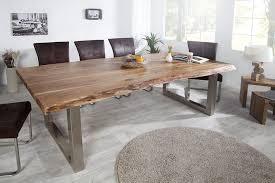 table cuisine bois brut table bois salle a manger chaise eliptyk