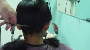 above the ear haircuts for women cutting hair above the ears youtube