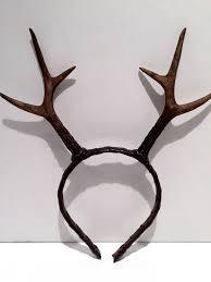 deer headband antler headband deer antler headdress reindeer antlers