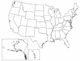 america map political blank map usa outline major tourist attractions maps