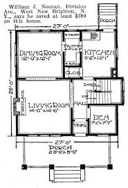square floor plans for homes american four square sears modern homes