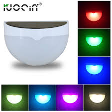 ruocin solar led light hanging lights color changing balcony