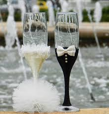 wedding gift glasses 14 best copas decoradas images on chagne glasses