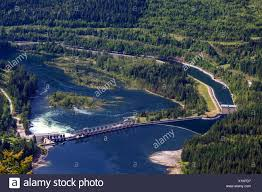 cora canap view of the cora dam and kootenay canal on the kootenay river