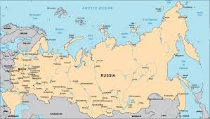 russia map map of russia with rivers