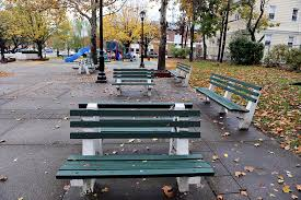 Benches In Park - bayonne woman is able to file lawsuit against the city for the