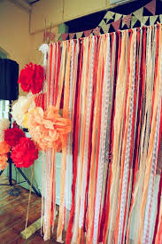 wedding backdrop stand uk best 25 ribbon backdrop ideas on hanging paper