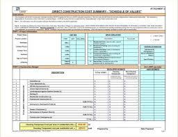 construction project schedule template excel free yoga spreadsheet