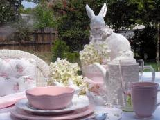 Easter Buffet Table Decorations by 15 Easter Table Decorations And Settings Hgtv
