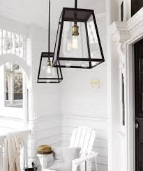 Pendant Porch Light Southton 1 Light Large Exterior Pendant In Antique Black