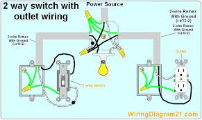 how to wire a light switch and outlet spiderhomee