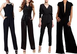 evening jumpsuits for black evening jumpsuits choozone