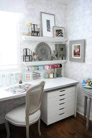 home office craft with craft corner home office shabby chic style