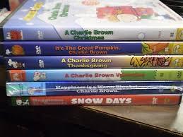 6 brown peanuts dvd lot great pumpkin