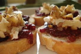 appetizers for thanksgiving fig goat cheese and walnut appetizers arthritis kitchen blog