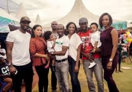 happy family comedian julius agwu throws a studded for