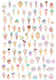 pattern illustration tumblr art ice cream wallpaper background tumblr cute nice pattern