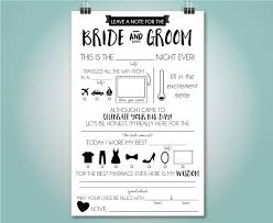 marriage advice cards for wedding wedding mad libs wedding advice card fill in the blank custom