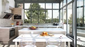 cuisine dans veranda fascinant veranda cuisine id es accessoires de salle de bain de