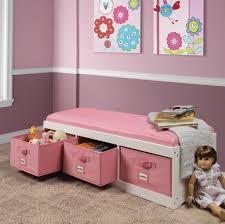 kids storage storage u0026 organization best pink and white bench with pink kids