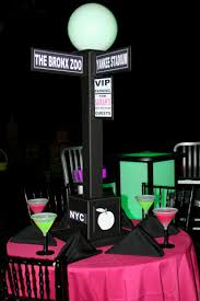 New York City Themed Party Decorations - bar bat mitzvah u0027s centerpieces and decor judaica nyc ipads candy