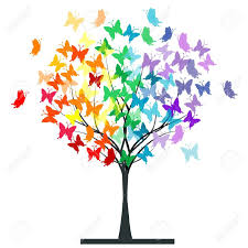 butterfly tree clipart clipartxtras