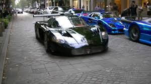 maserati mc12 supercar maserati mc12 corse office k dubai street in tokyo youtube