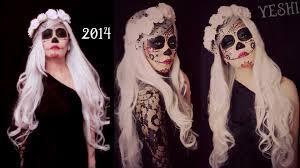 Sugar Skull Halloween Makeup Easy Sugar Skull Makeup Tutorial Halloween Fasching Youtube