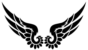 graphics for graphics tribal eagle wings www graphicsbuzz com