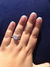 engagement rings size 8 size carat for a size 7 5 8 finger weddingbee
