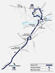 Maps Route by Stops And Maps Bristol Flyer