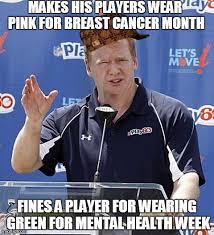 Roger Goodell Memes - roger goodell memes 28 images 10 funny sports memes 3 roger