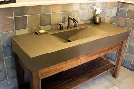 Rustic Bathroom Vanities For Vessel Sinks Rustic Bathroom Vanities In Different Design Choices