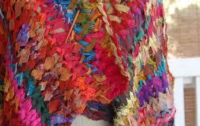sari silk ribbon knitaway sari silk ribbon finishing techniques