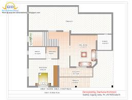 Duplex Plan Duplex House Plan And Elevation 2741 Sq Ft Home Appliance