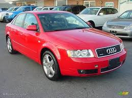 audi a4 modified 2004 brilliant red audi a4 1 8t quattro sedan 25063162 gtcarlot