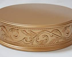 gold cake stands gold cake stand etsy